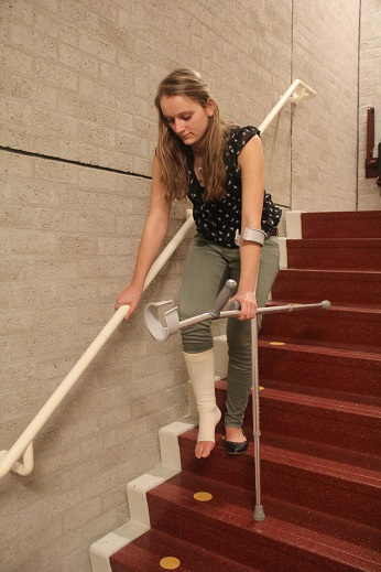 Steunverband knie lopen